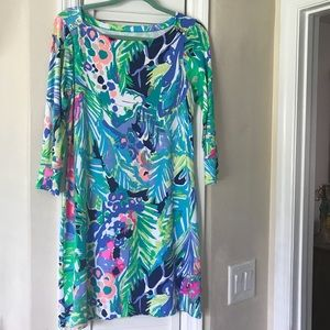 Lilly Pulitzer UPF 50 Sophie dress in Purrfect M